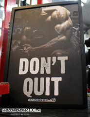Don't Quit - A2 Poster - CutAndJacked Shop  - 4