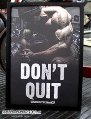 Don't Quit - A2 Poster - CutAndJacked Shop  - 9