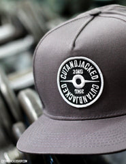 The CutAndJacked Snapback - Mauve Grey - CutAndJacked Shop  - 2