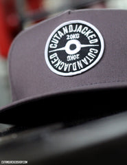 The CutAndJacked Snapback - Mauve Grey - CutAndJacked Shop  - 3