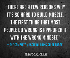 The Complete Muscle Building Guide (Ebook) - CutAndJacked Shop