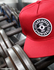 The CutAndJacked Snapback - Red - CutAndJacked Shop  - 4