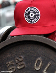 The CutAndJacked Snapback - Red - CutAndJacked Shop  - 6