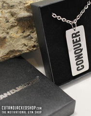 Conquer - Necklace - CutAndJacked Shop