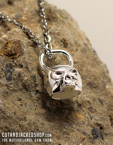 Skull Kettlebell - Necklace