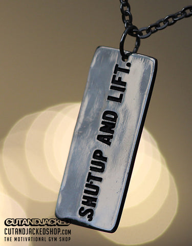Shutup And Lift - Necklace