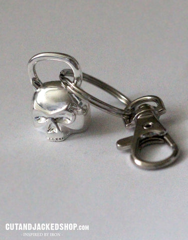 Skull Kettlebell - Key Ring
