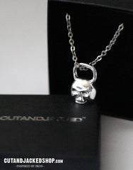 Skull Kettlebell - Necklace - CutAndJacked Shop  - 2