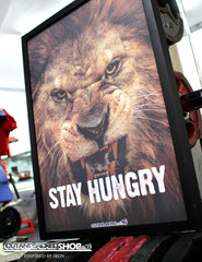 STAY HUNGRY - A2 Poster - CutAndJacked Shop  - 2