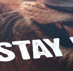 STAY HUNGRY - A2 Poster - CutAndJacked Shop  - 8