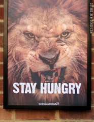 STAY HUNGRY - A2 Poster - CutAndJacked Shop  - 3