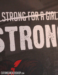 Strong For A Girl - A2 Poster - CutAndJacked Shop  - 8