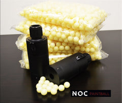 50 Cases NOC Paintball Rounds (2000 per case) - Glow In The Dark Paintballs