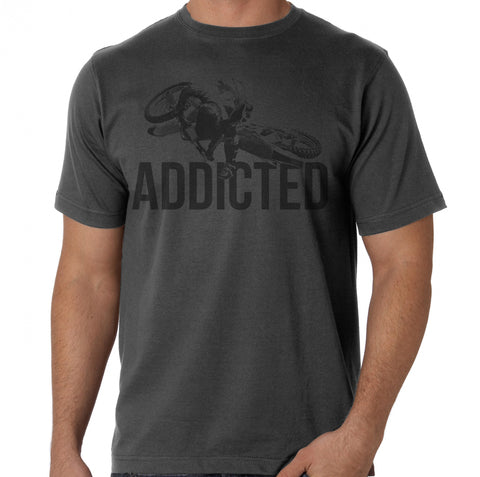 "Twisted Bandit Designs ""ADDICTED""  Whip Tee"