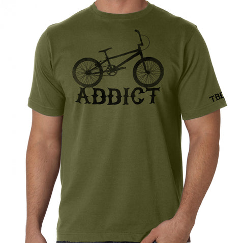 "Twisted Bandit. BMX ""ADDICT"" Action Sports Fashion Tee"