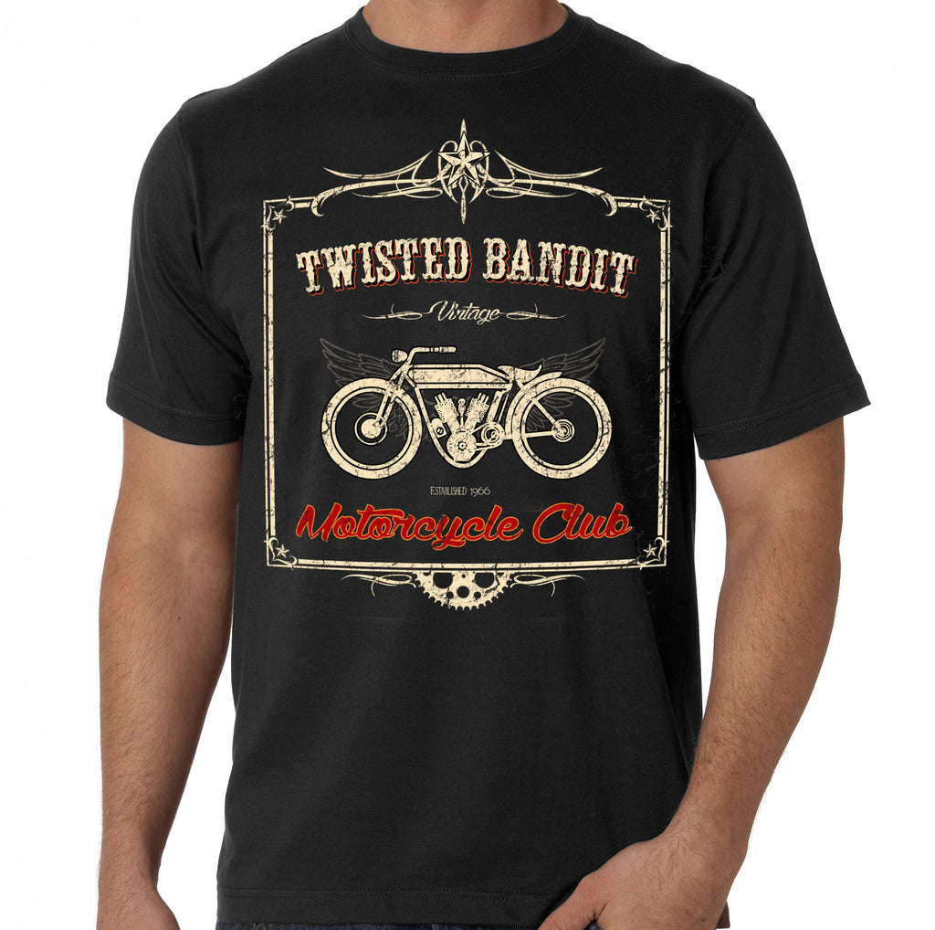 "Twisted Bandit ""Vintage"" Motorcycle Club Fashion Tee"