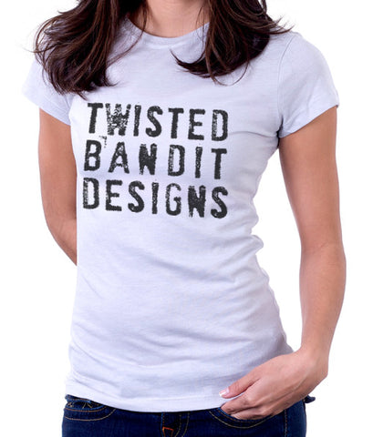 "Twisted Bandit womens ""BOLD"" action sports fashion tee"