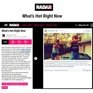 RADAR featuring Kate Hudson