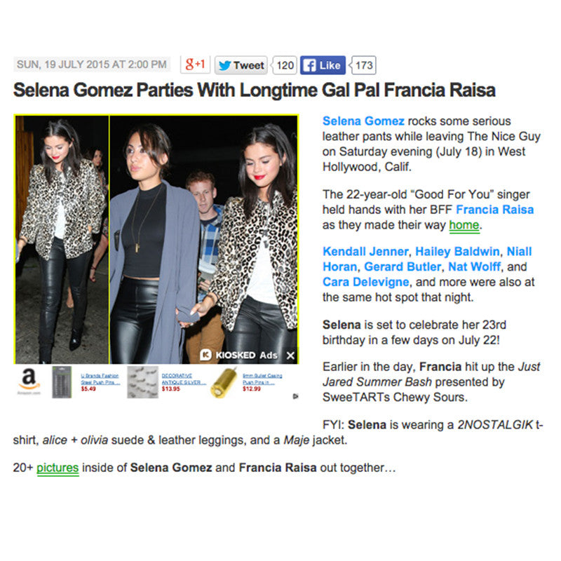 Just Jared featuring Selena Gomez