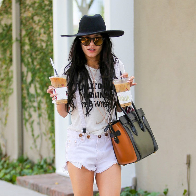 Vanessa Hudgens Rocking California Against The World tee