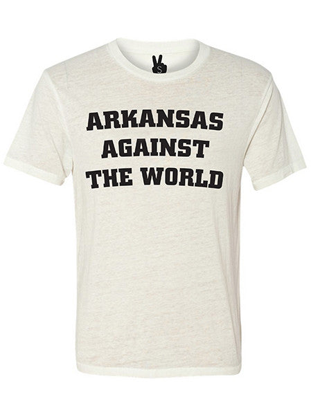ARKANSAS AGAINST THE WORLD Bobbie Tee