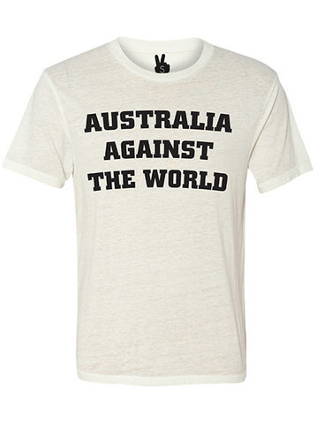 AUSTRALIA AGAINST THE WORLD Bobbie Tee