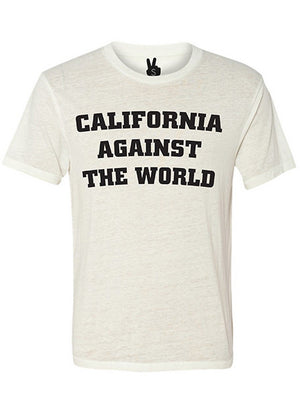 CALIFORNIA AGAINST THE WORLD Bobbie Tee