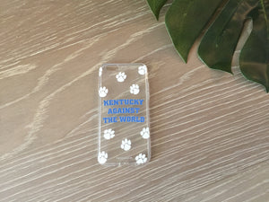 KENTUCKY AGAINST THE WORLD IPHONE CASE