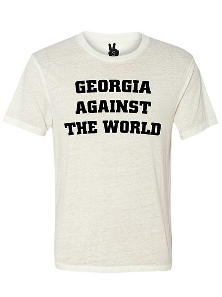 GEORGIA AGAINST THE WORLD Bobbie Tee