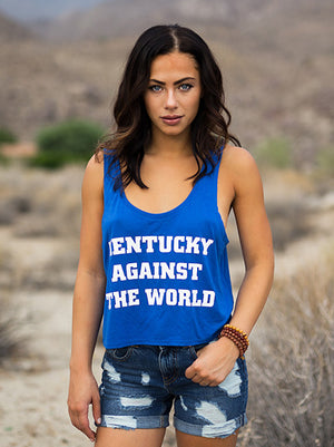 KENTUCKY AGAINST THE WORLD Alysha Tank