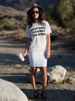 NEW YORK AGAINST THE WORLD Bobbie Tee