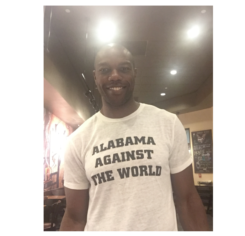 ALABAMA AGAINST THE WORLD Bobbie Tee