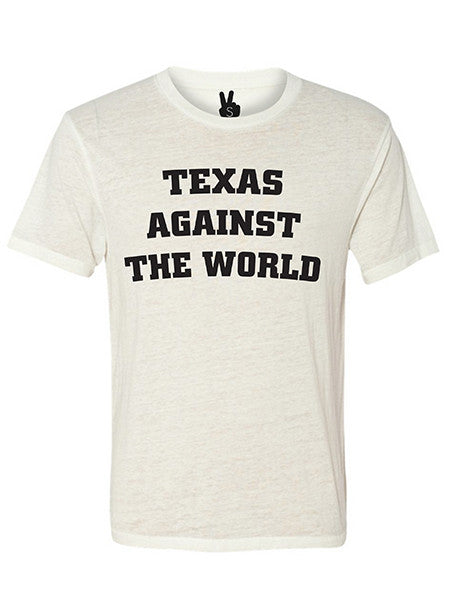 TEXAS AGAINST THE WORLD Bobbie Tee