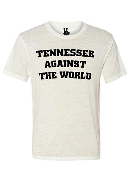 TENNESSEE AGAINST THE WORLD Bobbie Tee