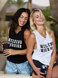 WEEKEND WARRIOR Brooke Muscle Tank
