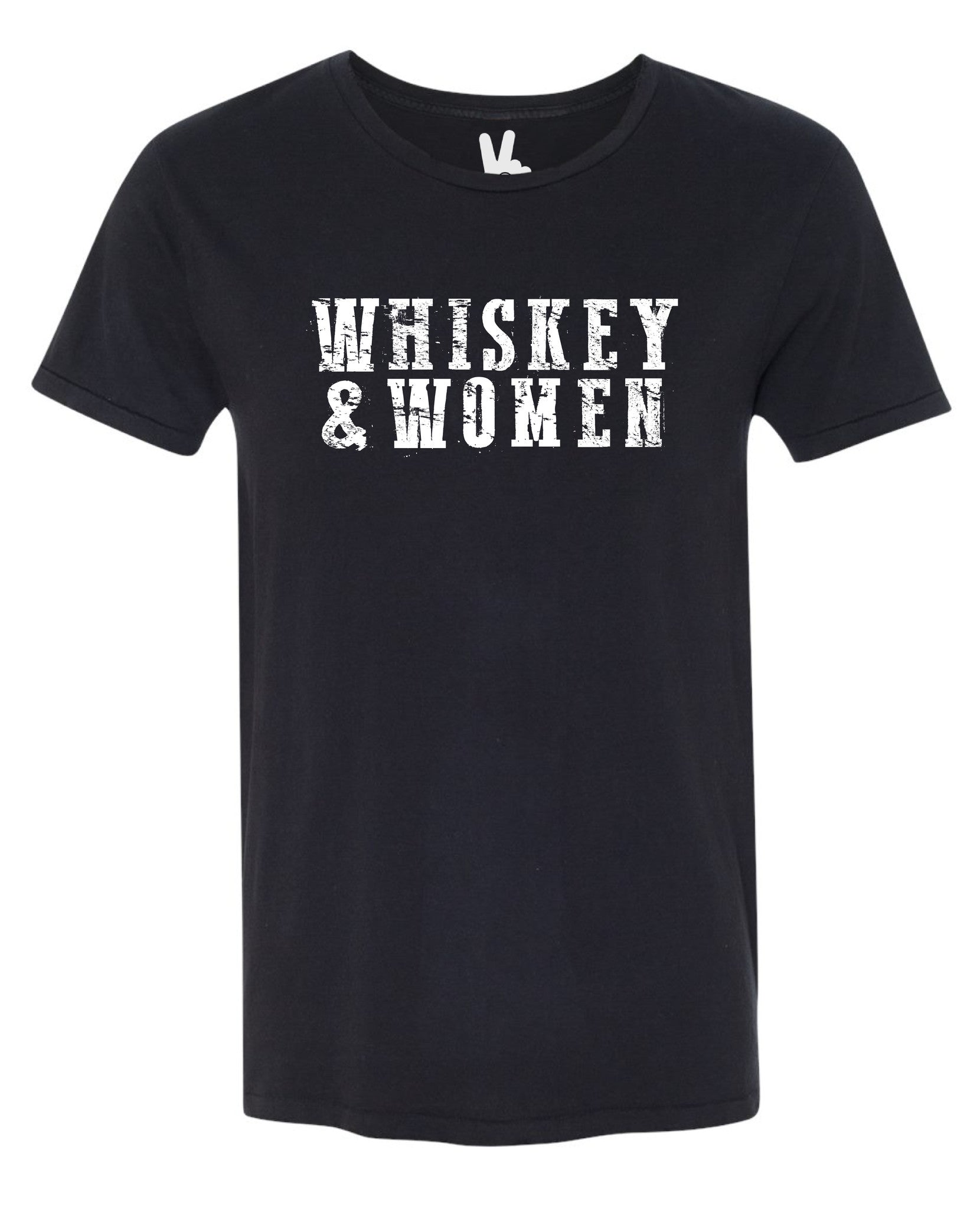 WHISKEY AND WOMEN Chas Tee