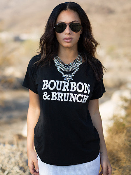 BOURBON & BRUNCH Rocker Tee