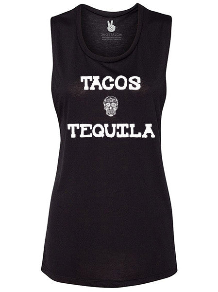 TACOS & TEQUILA Brooke Muscle Tank