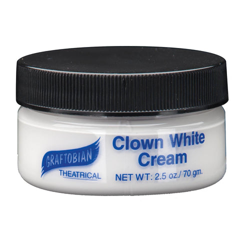 Theatrical Creme Clown White 2.5 oz