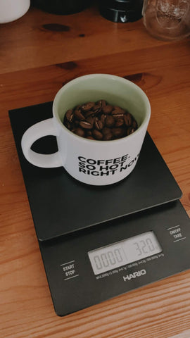 Coffee Scale - Smile Tiger Coffee Roasters