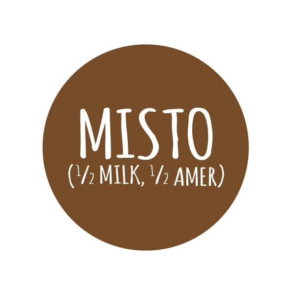 Misto (Americano + Steamed Milk)