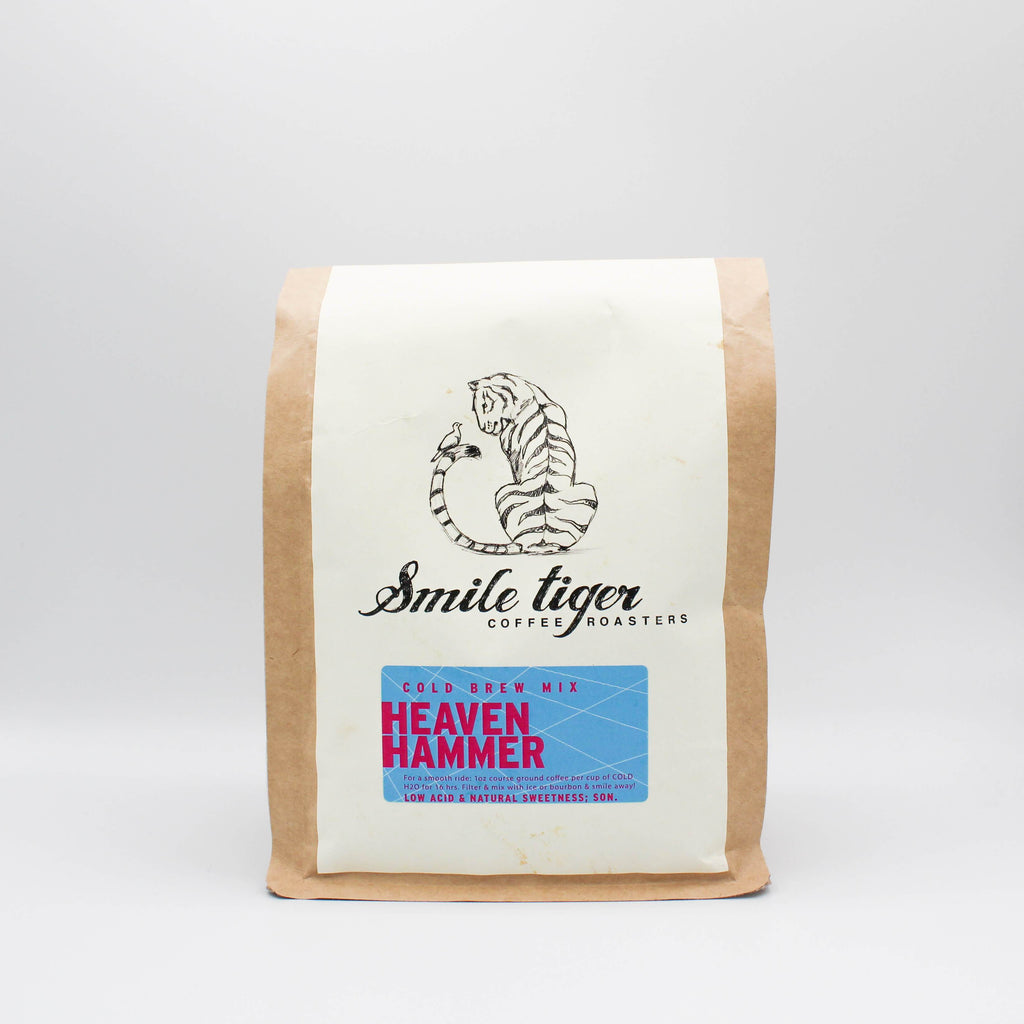 Heaven Hammer Cold Brew Blend - Smile Tiger Coffee Roasters