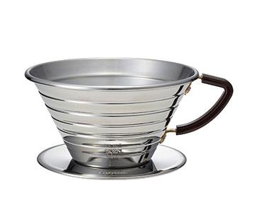 Kalita Wave 185 Stainless Steel Dripper - Smile Tiger Coffee Roasters