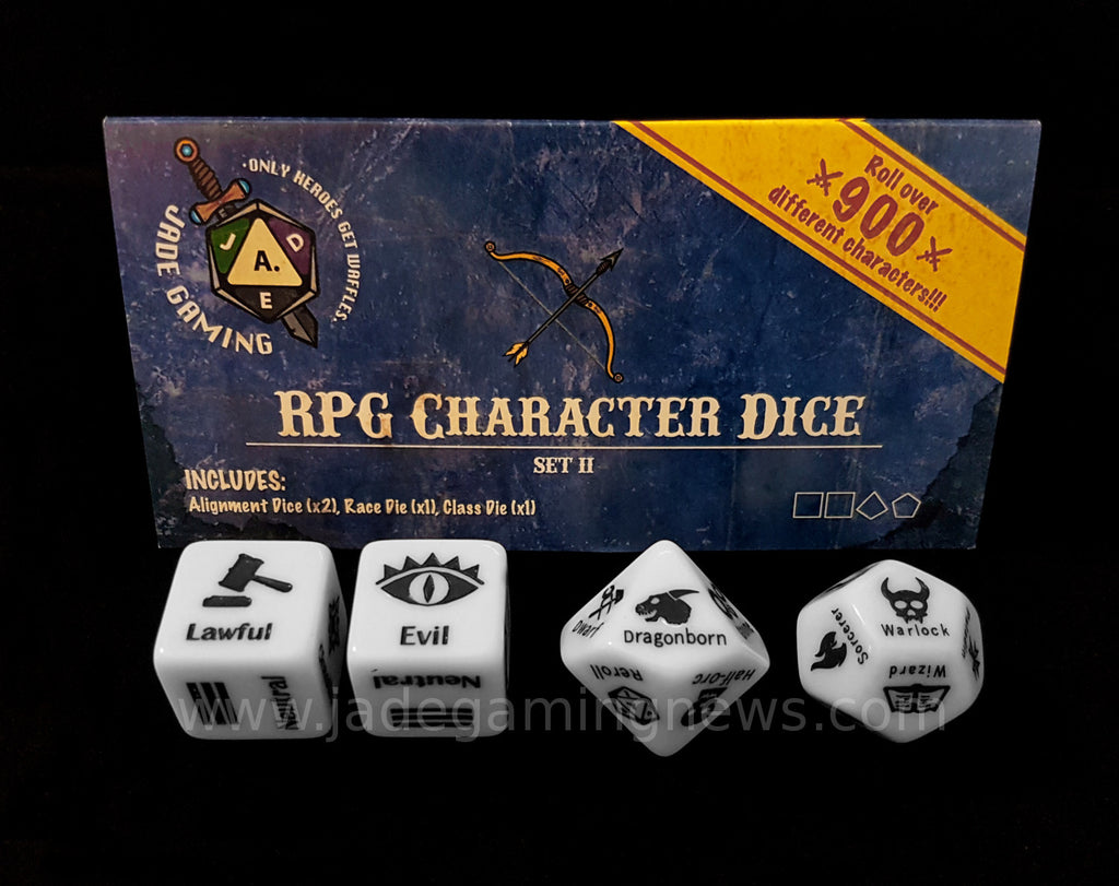 RPG Character Dice Set II