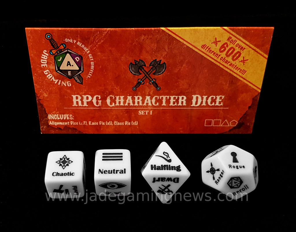 RPG Character Dice Set I
