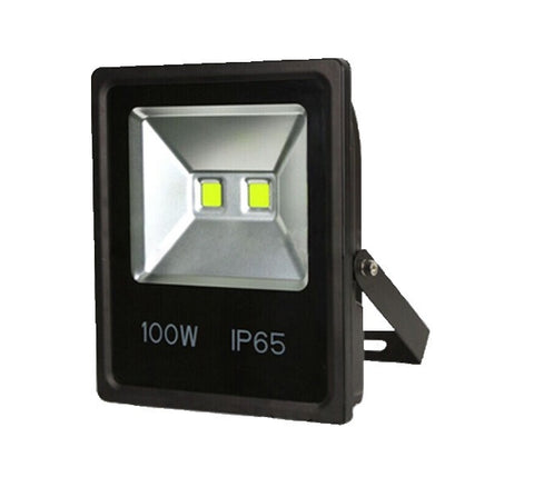 100W Outdoor LED Flood Light, Slim, Replaces 400W MH, 9500 Lumen, 5000K - LED Lighthouse Inc Webstores, ALLBulb & A19LED