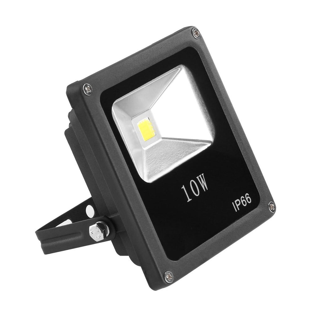 10W Outdoor LED Flood Light,Slim,Adjustable,Replaces 100W Incandescent, 900 Lumen, 5000K - LED Lighthouse Inc Webstores, ALLBulb & A19LED