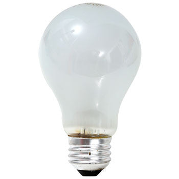 Economy, A19, 60-Watt Frosted Light Bulb, 1-Pack - LED Lighthouse Inc Webstores, ALLBulb & A19LED