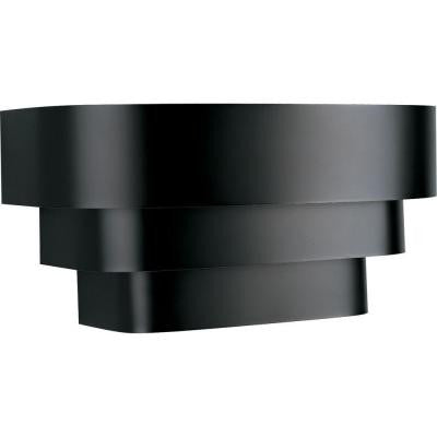 Progress Lighting, 1-Light, Black, Wall Sconce , OUTDOOR LIGHTING - Progress Lighting, A19LED.COM