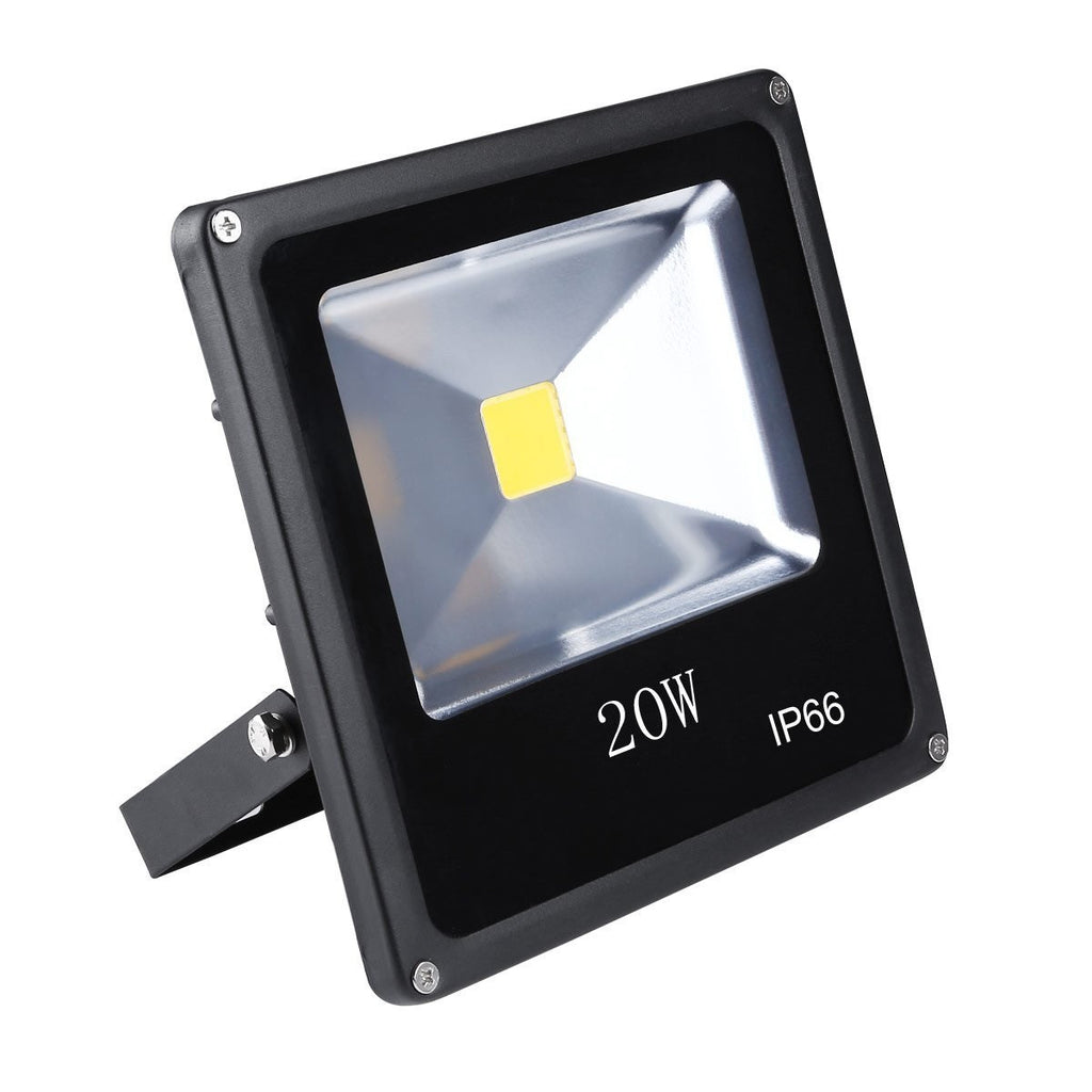 20W Outdoor LED Flood Light, Adjustable, Replaces 100W Halogen, 1800 Lumen, 6000K - LED Lighthouse Inc Webstores, ALLBulb & A19LED